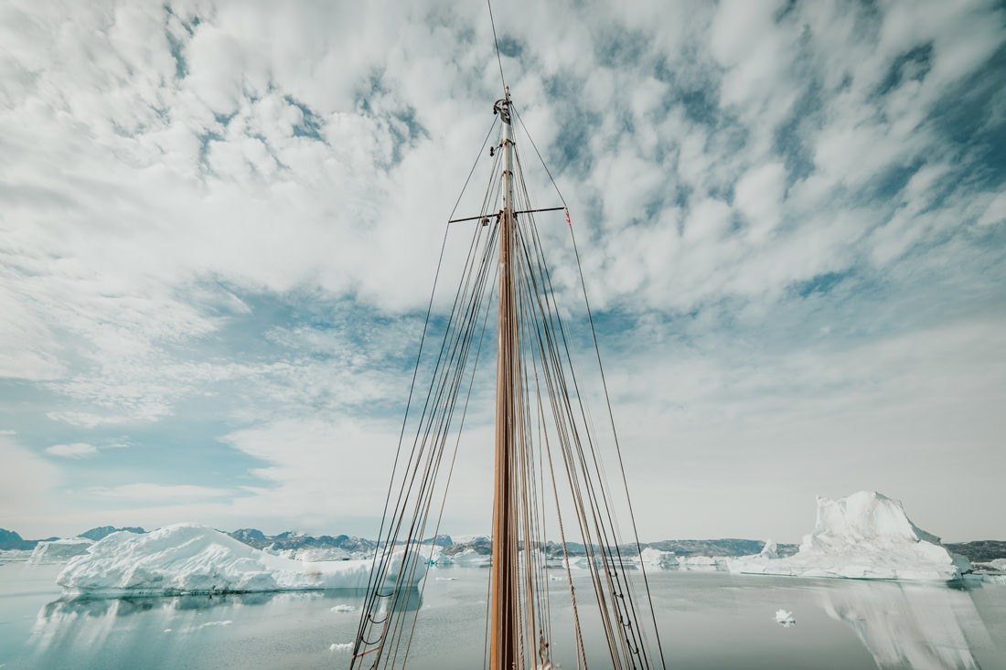 035 greenland arctic sailing expedition - Segel Expedition in Ost-Grönland 2/3
