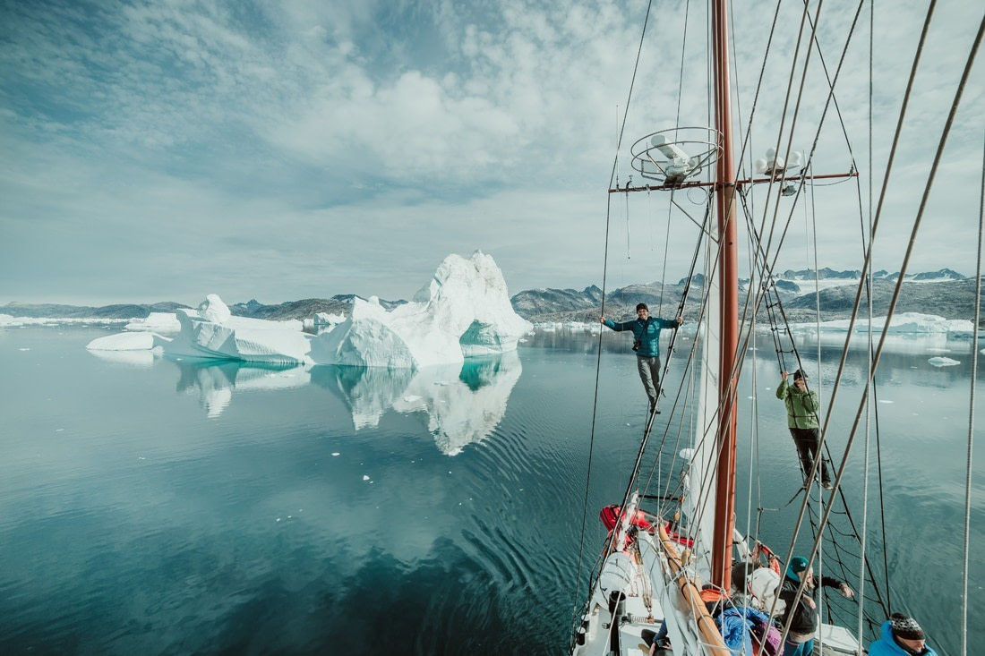 041 greenland arctic sailing expedition - Segel Expedition in Ost-Grönland 2/3