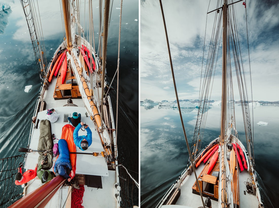 036 greenland arctic sailing expedition - Segel Expedition in Ost-Grönland 2/3